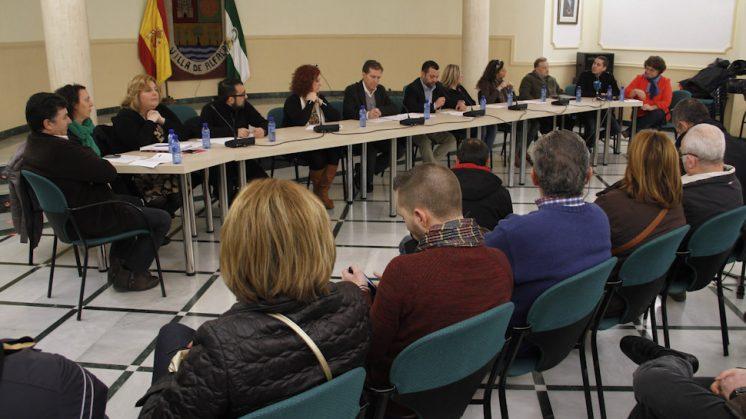 El pleno de dimisión de la anterior alcaldesa. Foto: Álex Cámara