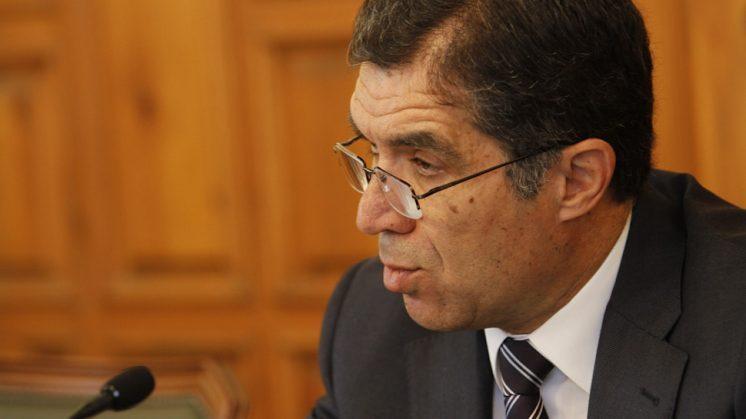 El presidente del TSJA, Lorenzo del Río, en una comparecencia. Foto: Álex Cámara (archivo)