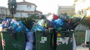 El PP de Peligros denuncia las deficiencias del servicio de recogida de basura