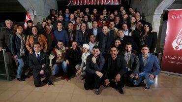 El presidente del Granada CF se reúne con representantes de las peñas granadinistas