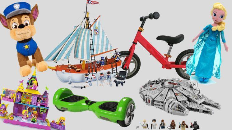 Algunos de los juguetes más demandados para estas navidades.